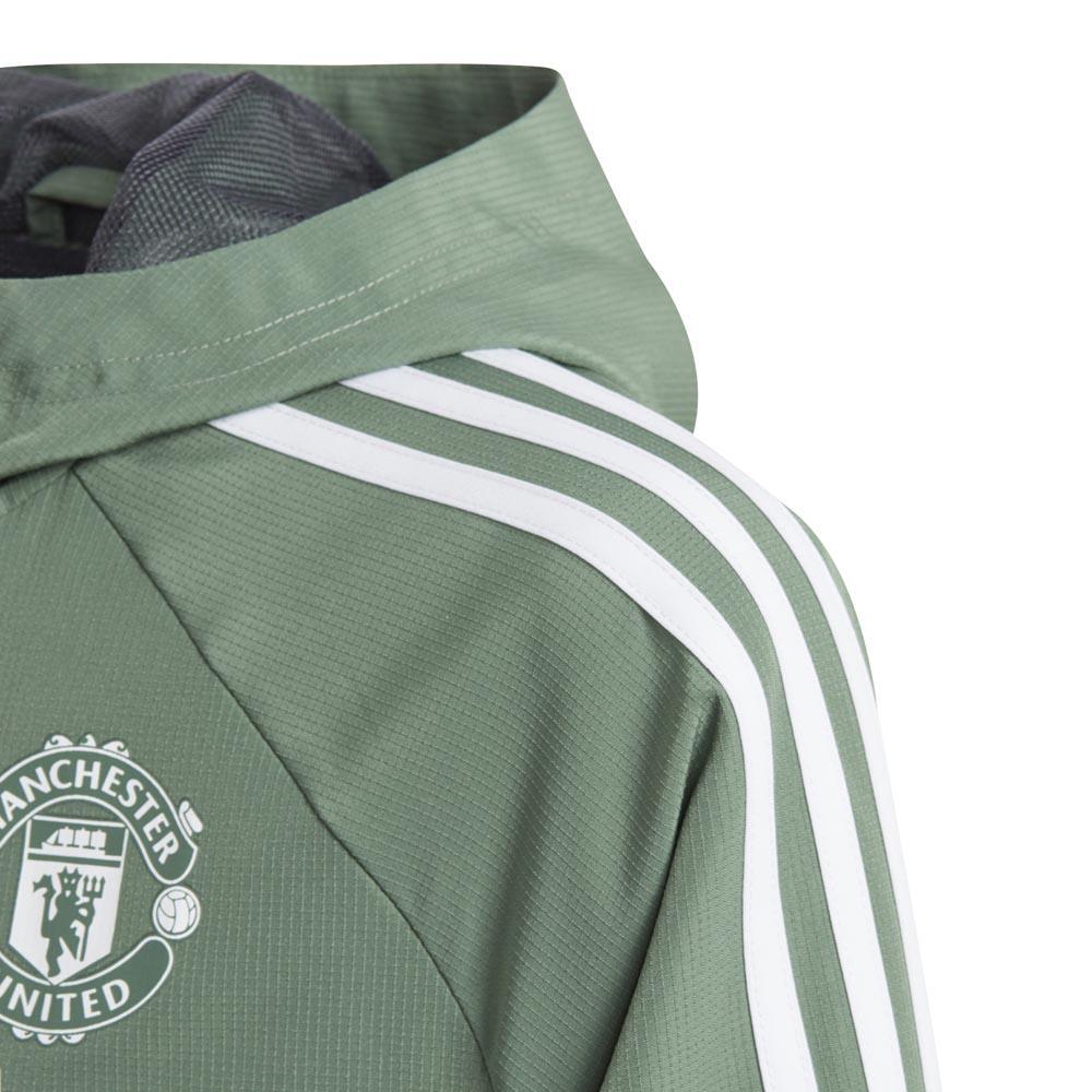 adidas Manchester United FC Presentation Jacket Junior Grønn