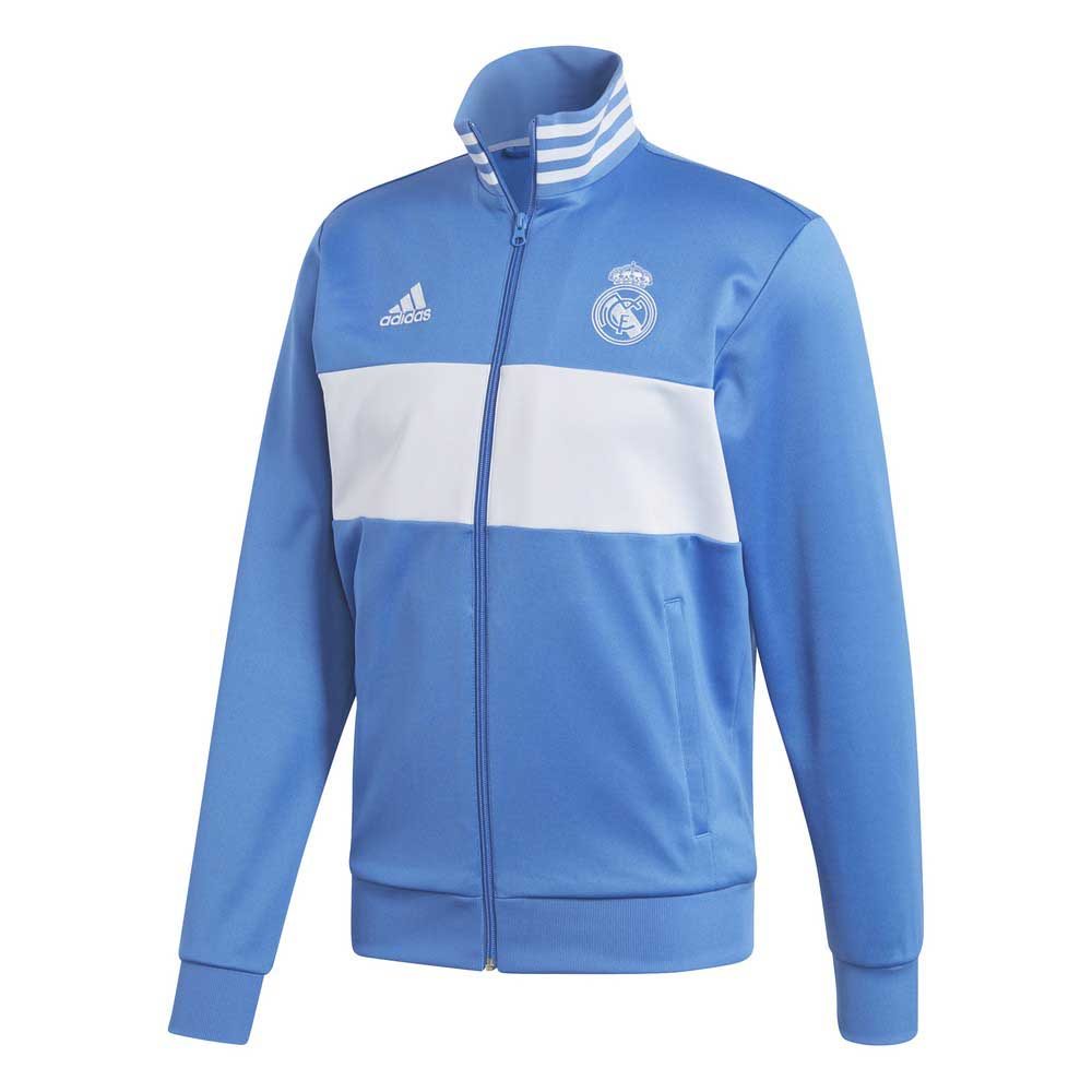 a307c09c0 adidas Real Madrid 3S Track Top - Blue buy and offers on Goalinn