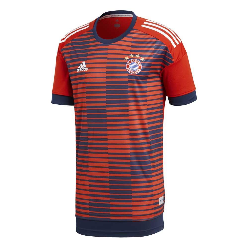 differently b3476 5de41 adidas FC Bayern Munich Pre Match Jersey S/S Red, Goalinn