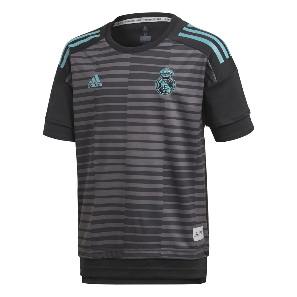 7fb782836 adidas Real Madrid Warm Up 17 18 Black buy and offers on Goalinn