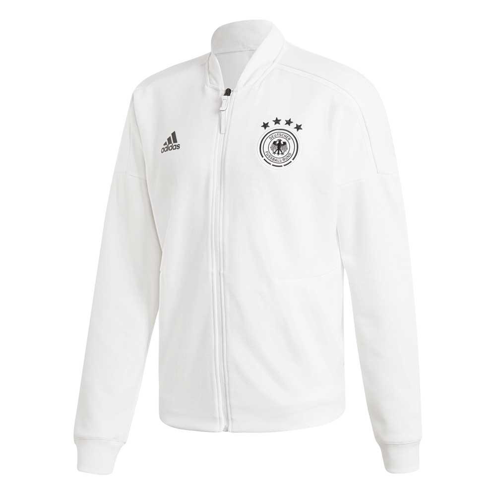 adidas Germany ZNE Knit Jacket Hvit kjøp og tilbud, Goalinn