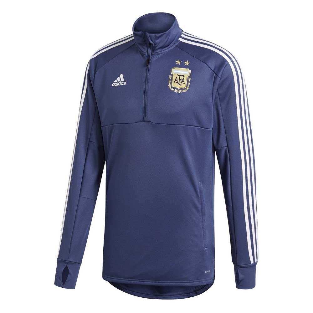 3a92c982c0ba adidas Argentina Training Top Blue buy and offers on Goalinn