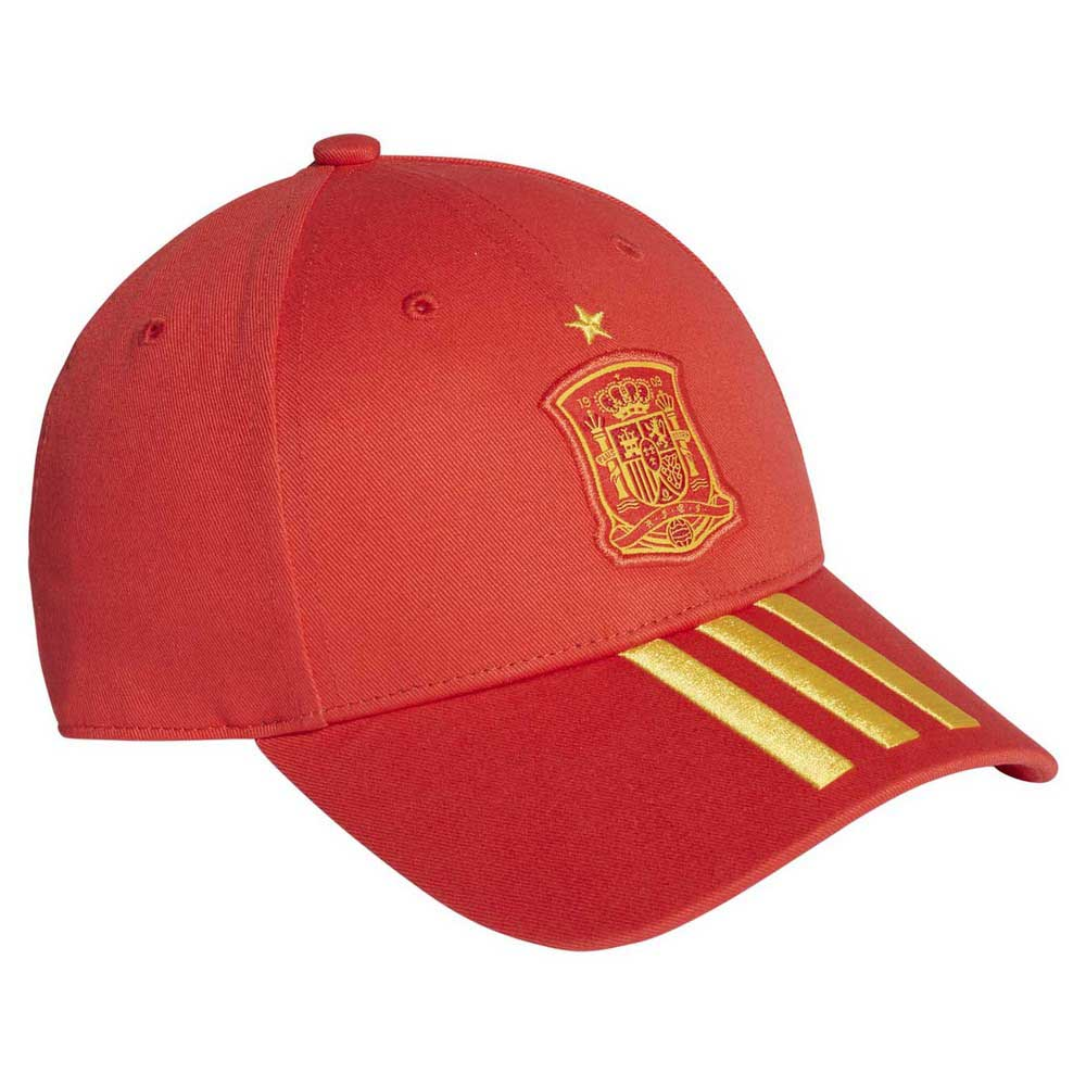 the latest 0577b dee11 adidas Spain 3 Stripes Junior Red buy and offers on Goalinn