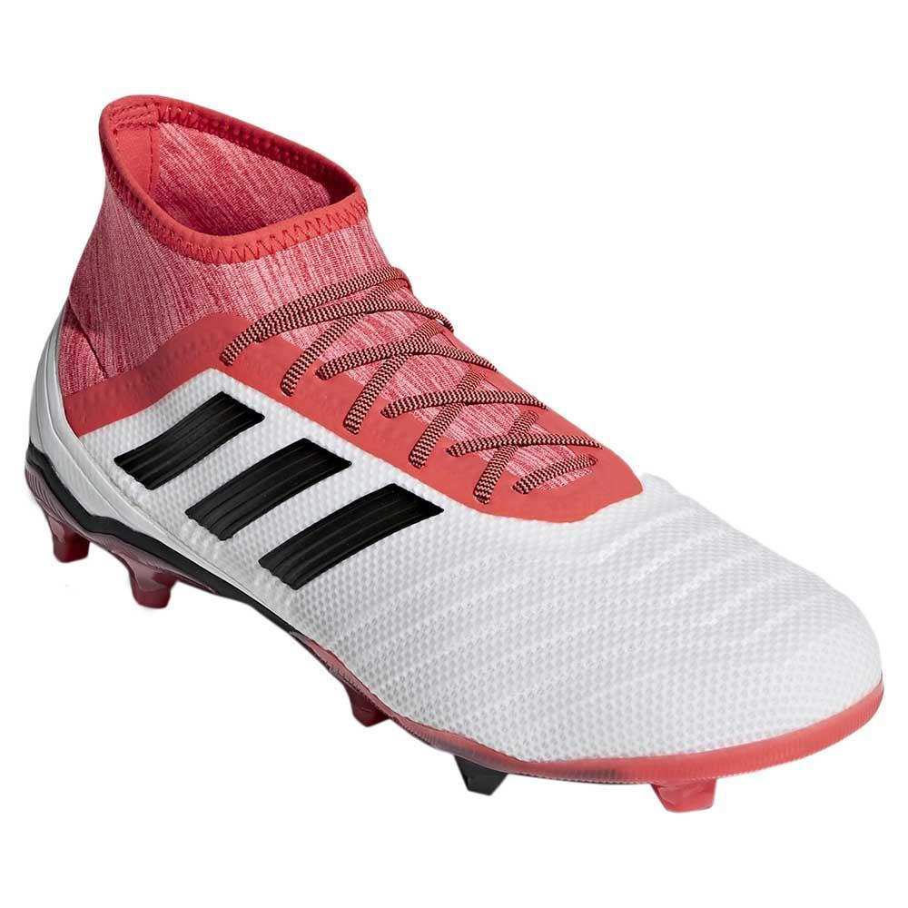 2112380ec adidas Predator 18.2 FG Red buy and offers on Goalinn