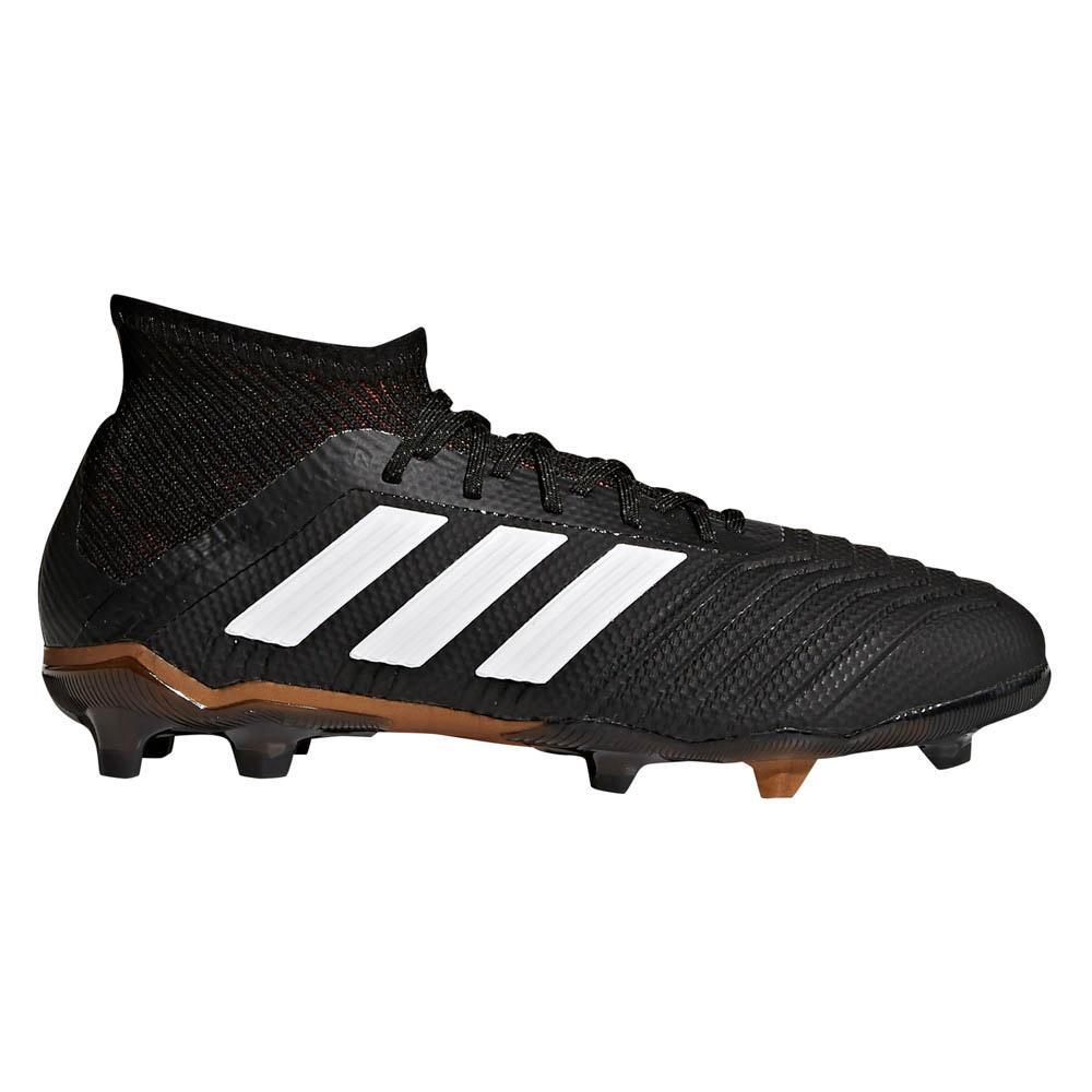 15785cd65dab adidas Predator 18.1 FG Black buy and offers on Goalinn