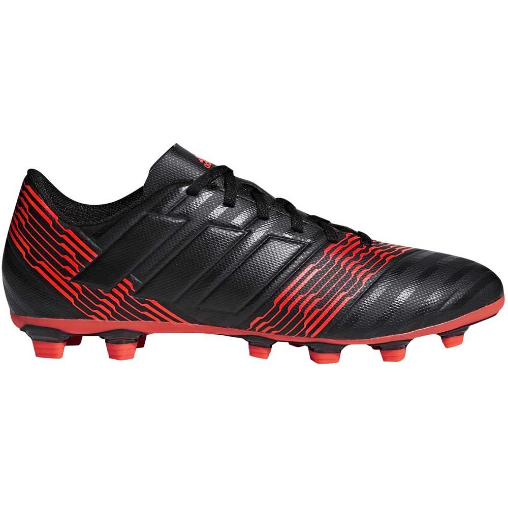 11ae9ad4066a adidas Nemeziz 17.4 FXG Black buy and offers on Goalinn