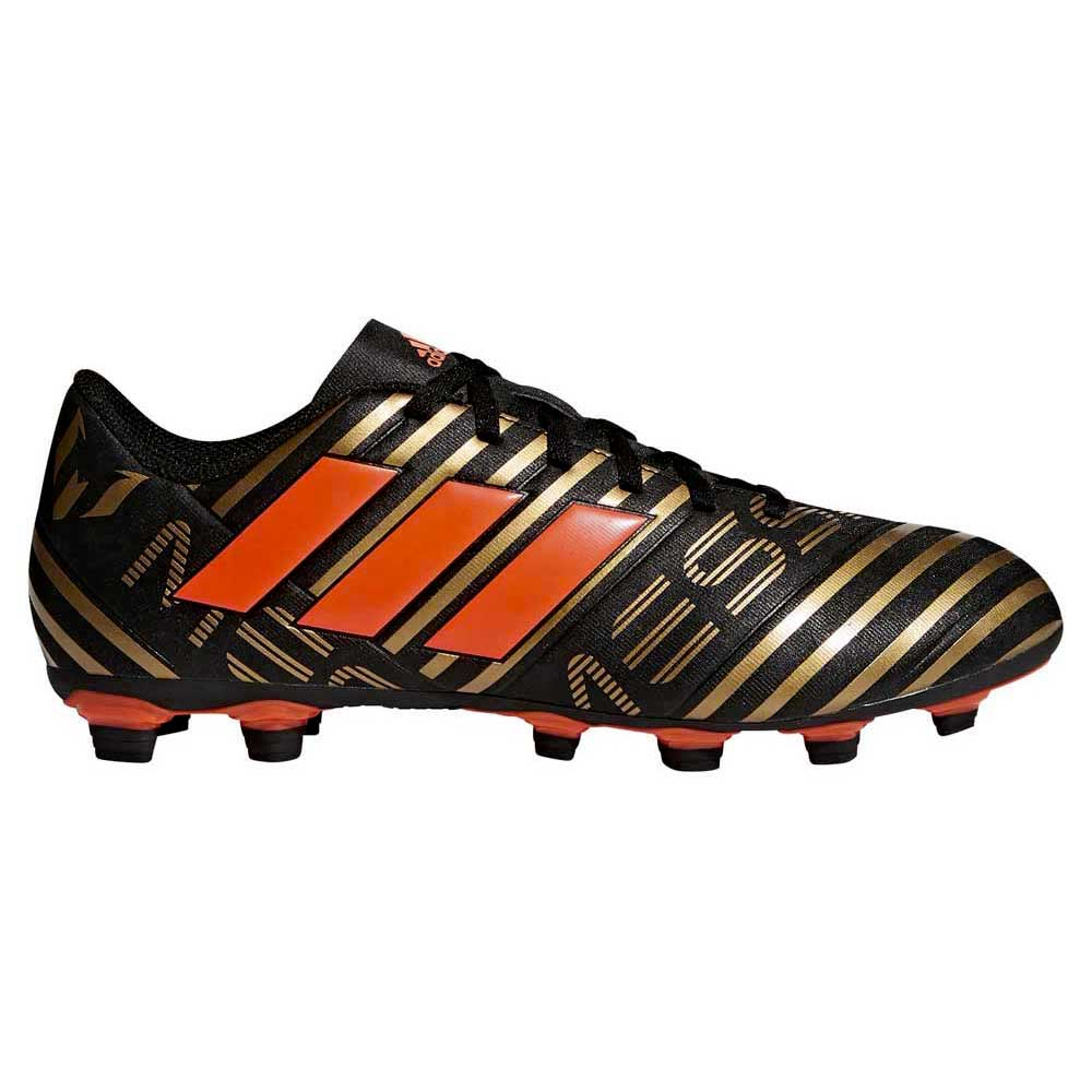 the latest e54d8 d9e88 adidas Nemeziz Messi 17.4 FXG Black buy and offers on Goalinn