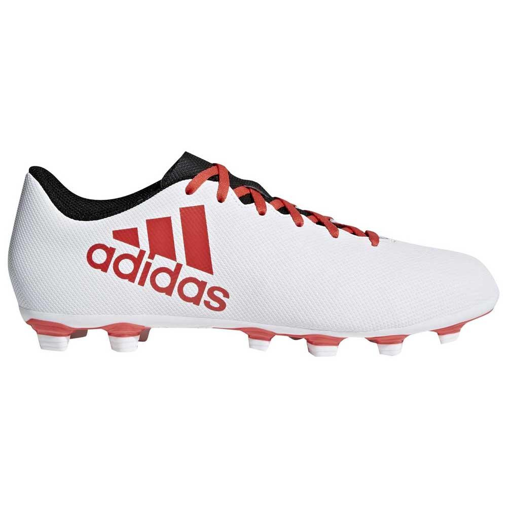 87e31a54b adidas X 17.4 FXG White buy and offers on Goalinn
