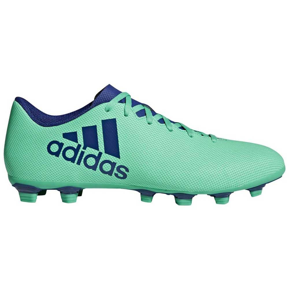 9642db562 adidas X 17.4 FXG Green buy and offers on Goalinn