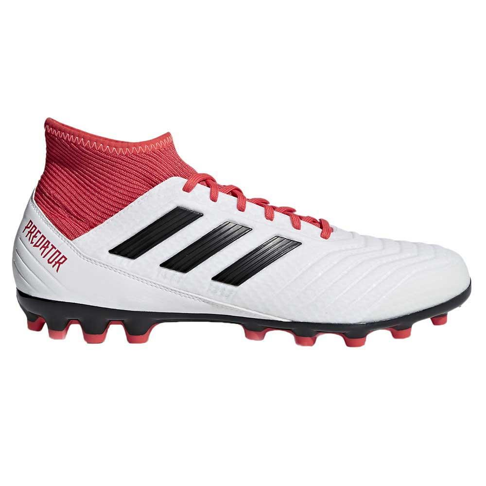253b20b0887 adidas Predator 18.3 AG White buy and offers on Goalinn