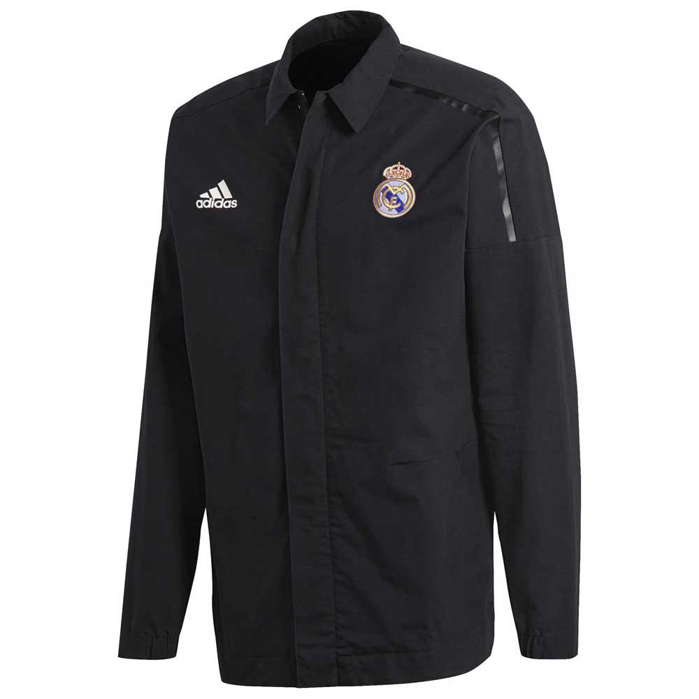 adidas Real Madrid ZNE Woven Jacket Czarny kup i oferty