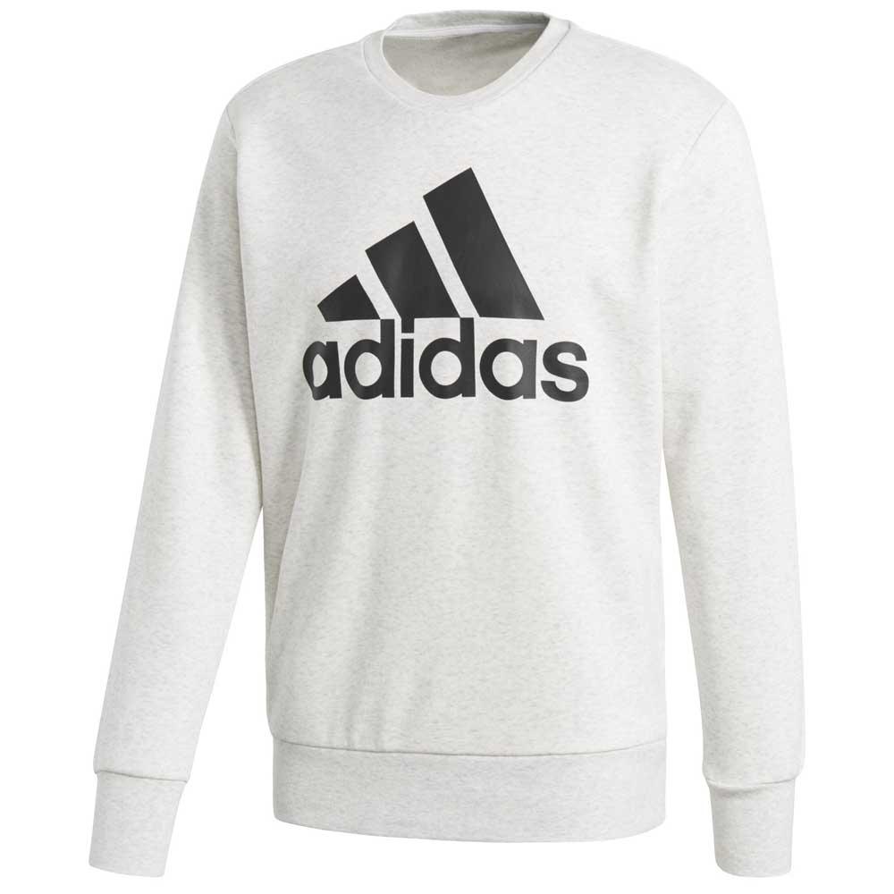 00bb973b adidas Essentials Big Logo Crew Neck Hvit, Goalinn Gensere
