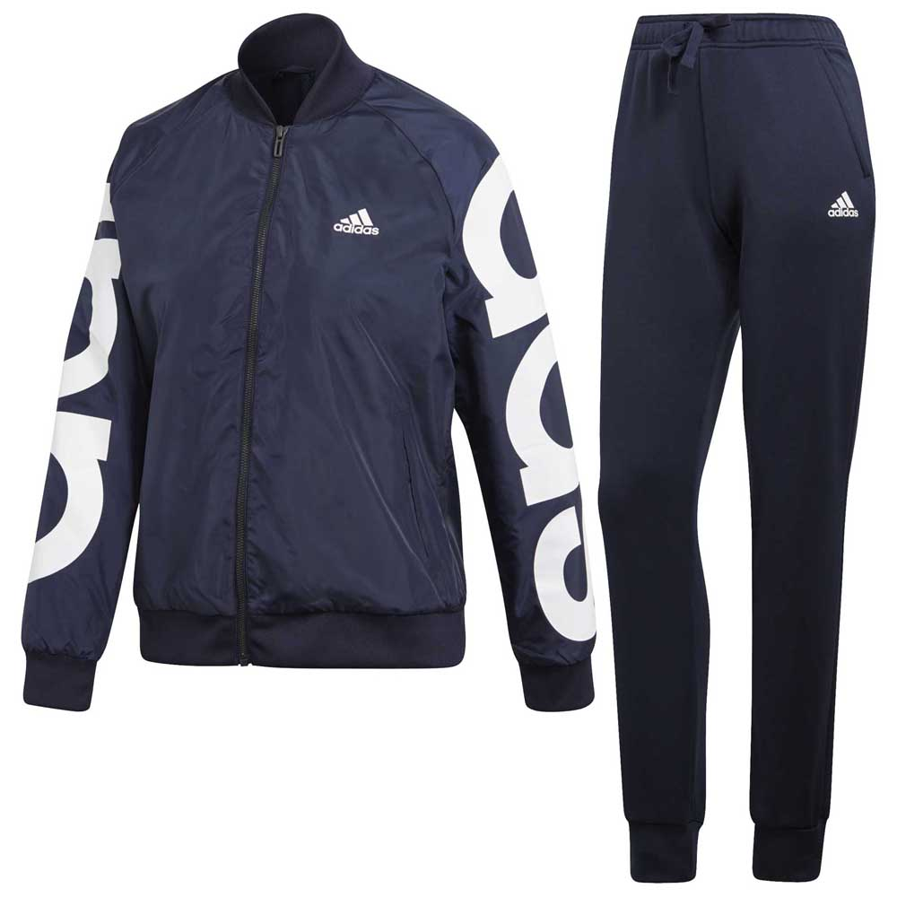 98b068d92238 adidas Woven Bomber Tracksuit Blue buy and offers on Goalinn