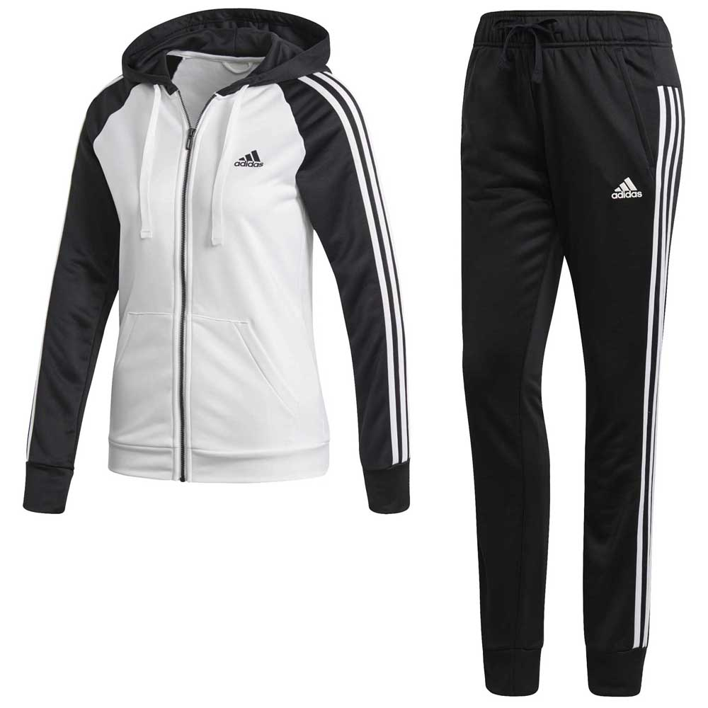63174978fdda1 adidas Re Focus Tracksuit White buy and offers on Goalinn