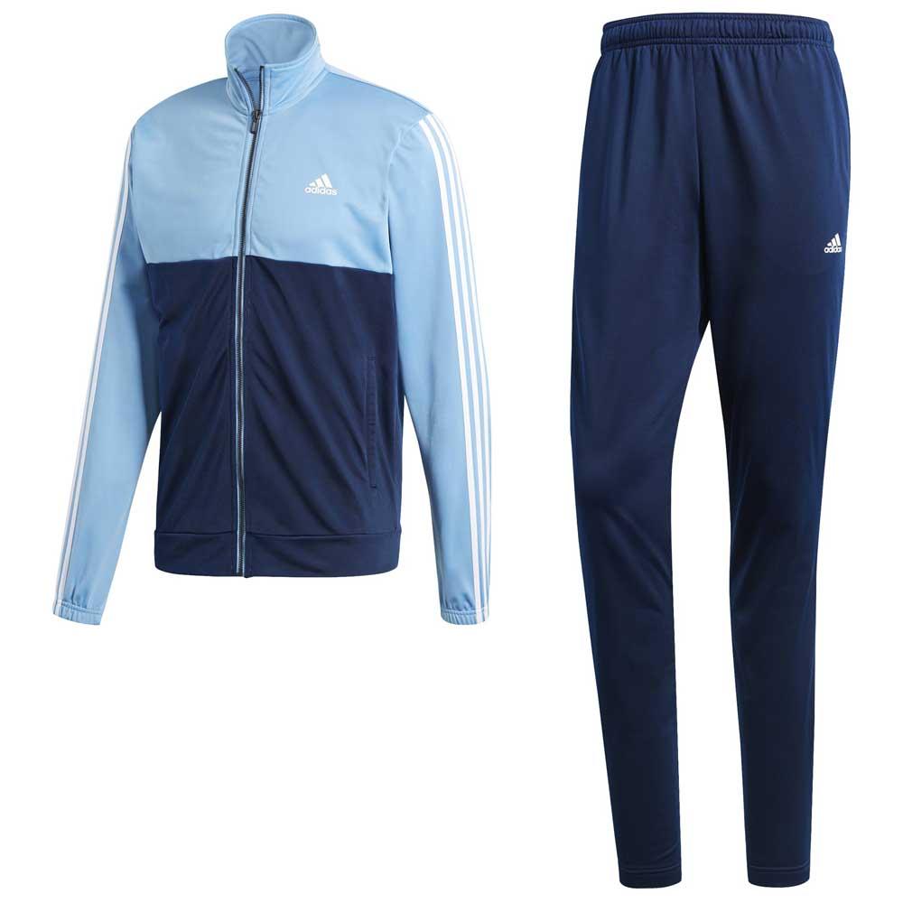 pecora blocco stradale Gonfiare  adidas Back 2 Basics 3 Stripes Regular Blue, Goalinn