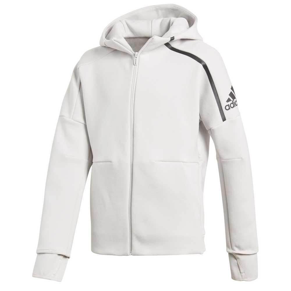Casaco branco esportivo adidas
