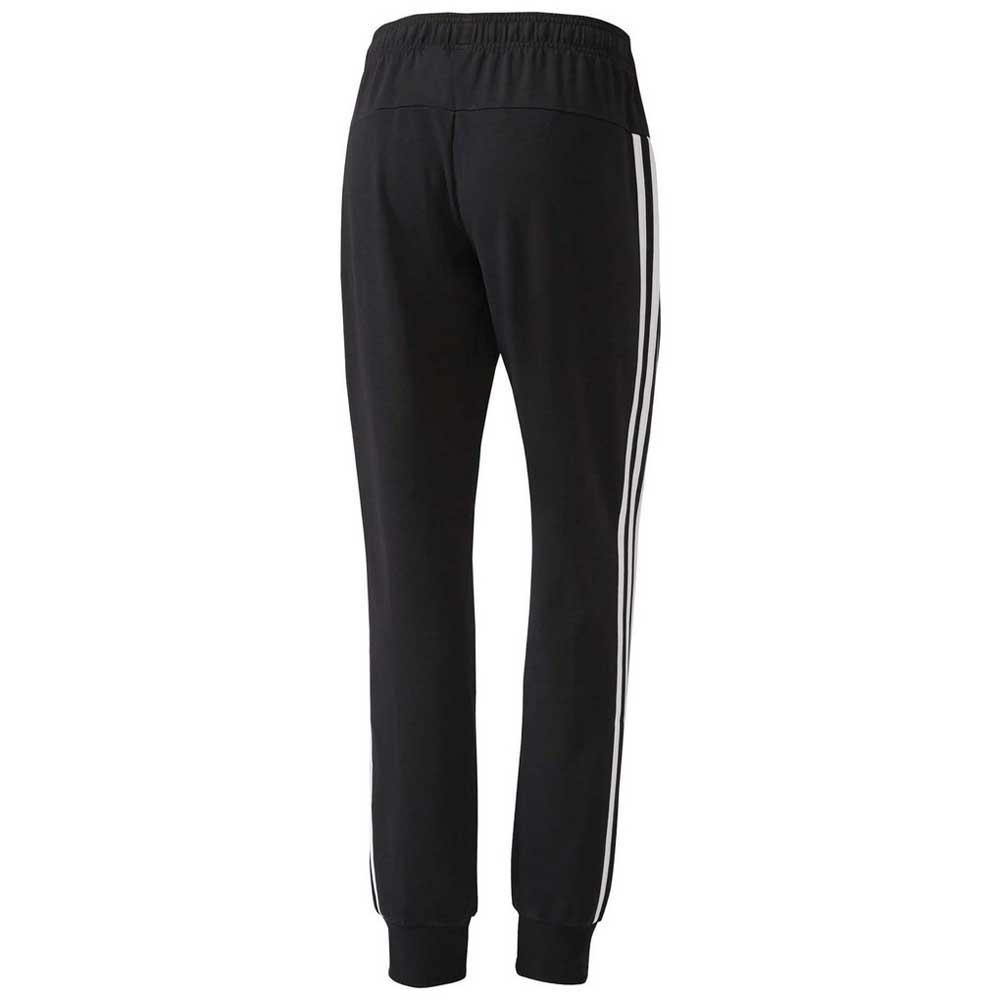 Adidas Essentials 3 Stripes Single Jersey Closed Hem Pants