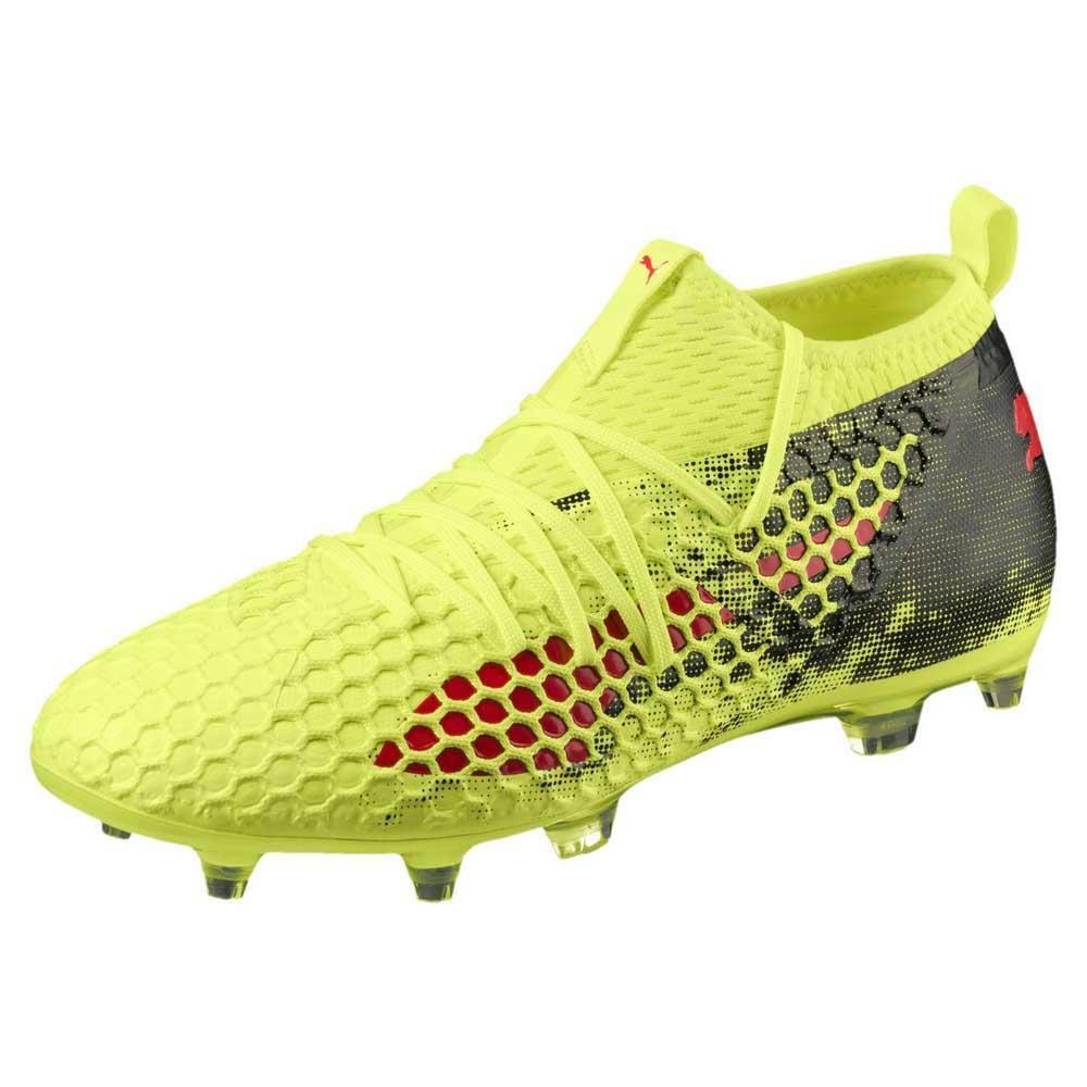 Puma Future 18.2 Netfit Hy FG Yellow buy and offers on Goalinn 40b70e399b6c8
