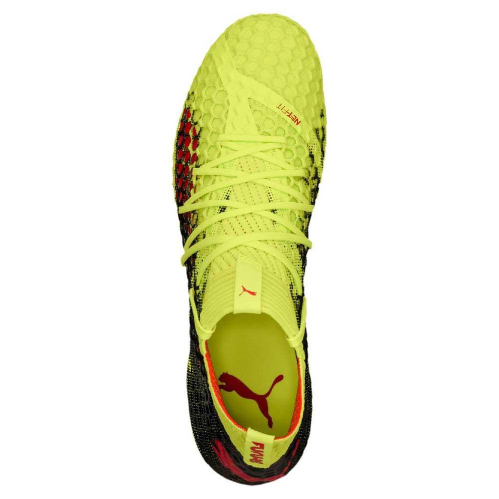 15c41ab7b Puma Future 18.1 Netfit Hy FG Yellow buy and offers on Goalinn