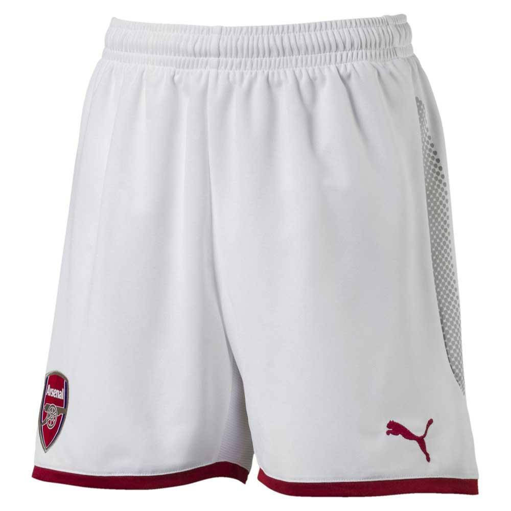71afed6d80332 Puma Arsenal FC Replica Shorts Junior Branco