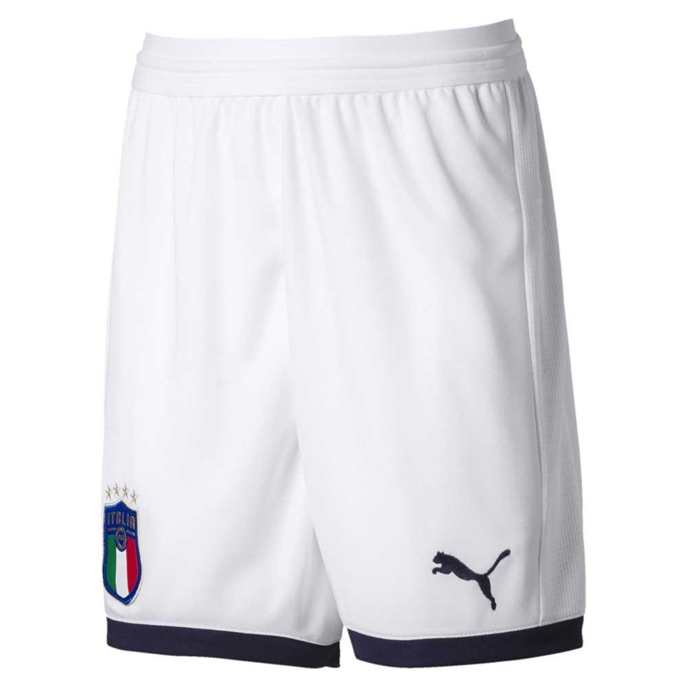 7dd146e78 FIGC Italia Replica Shorts Junior Puma White   Peacoat