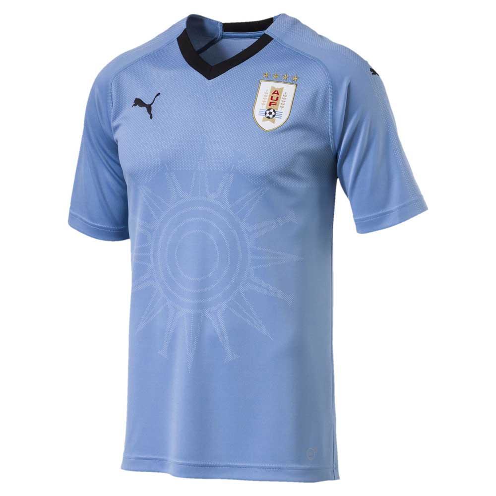 4dc7e04b262 Puma Uruguay Home Replica 2018 Blue buy and offers on Goalinn