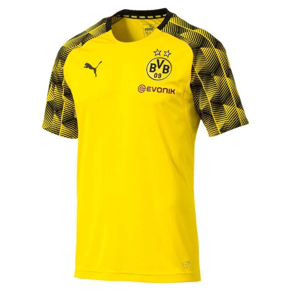 Puma Borussia Dortmund Stadium Jersey S S Yellow Goalinn