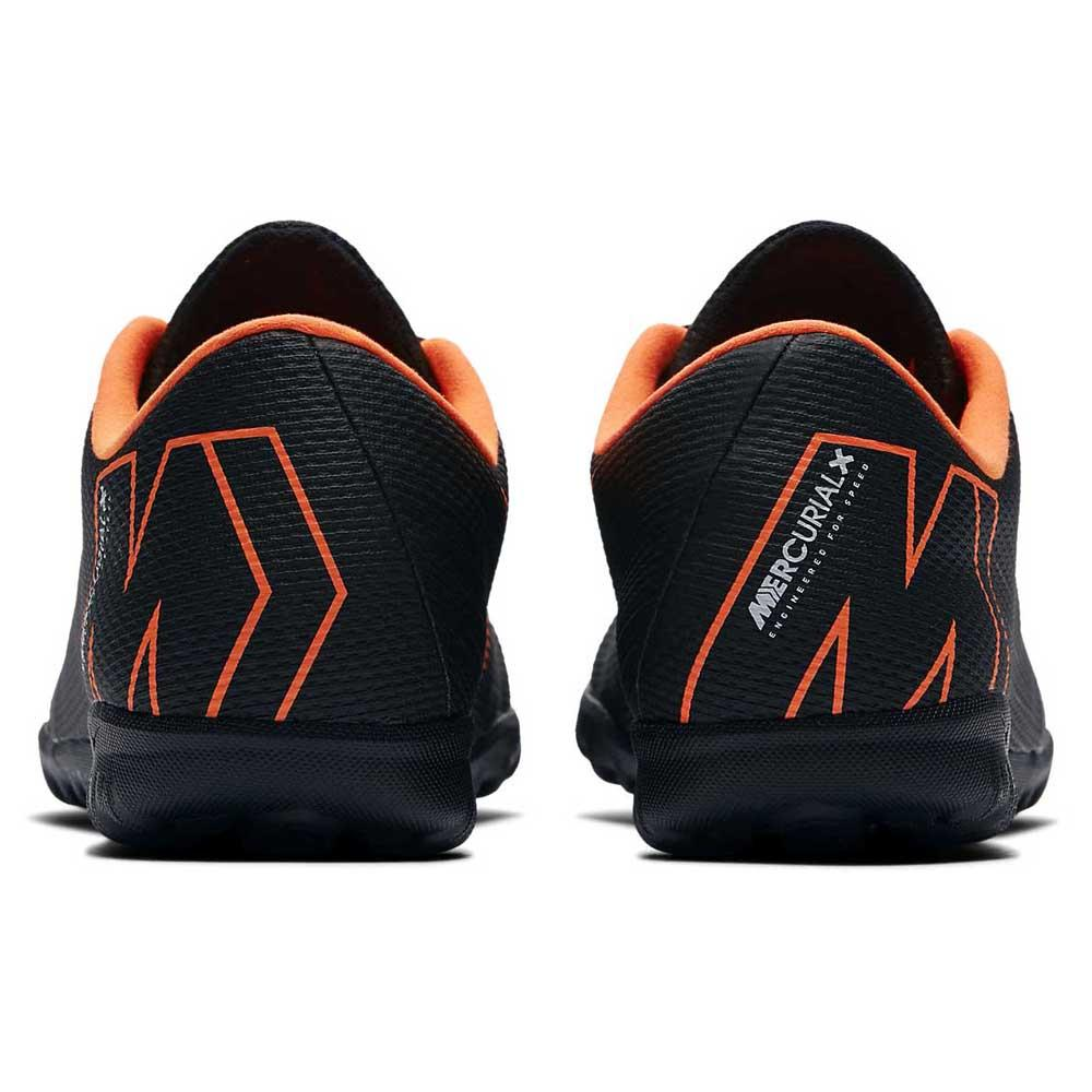 Mercurialx Vapor XII Academy TF Black   Total Orange c6bc04c39f