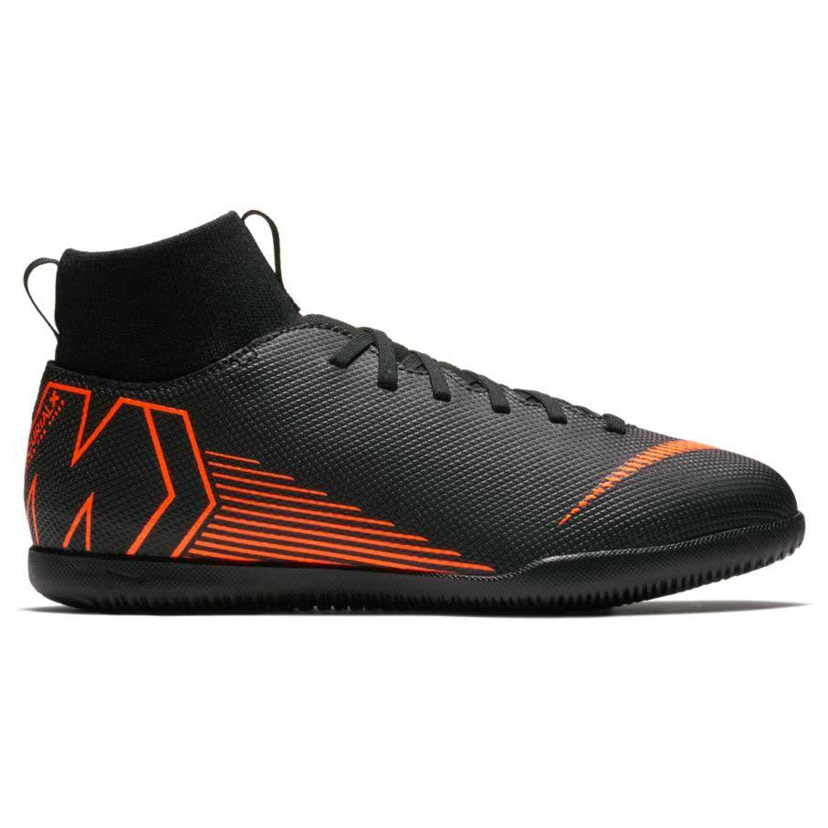 Nike Mercurialx Superfly VI Club IC Preto, Goalinn Futsal júnior