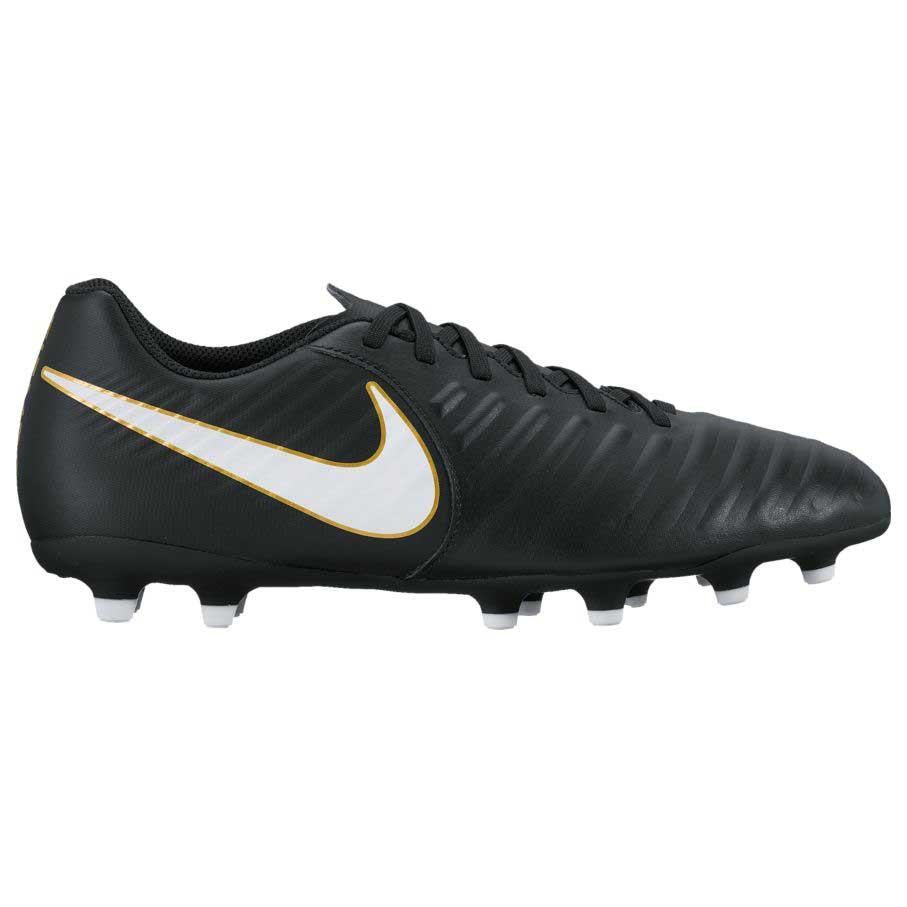 best service fb5cf 9beb1 Nike Tiempo Rio IV FG Black buy and offers on Goalinn