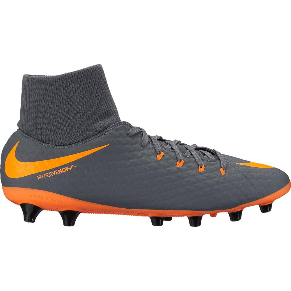 best loved a91ba a3ad2 Nike Hypervenom Phantom III Academy DF Pro AG Orange, Goalinn
