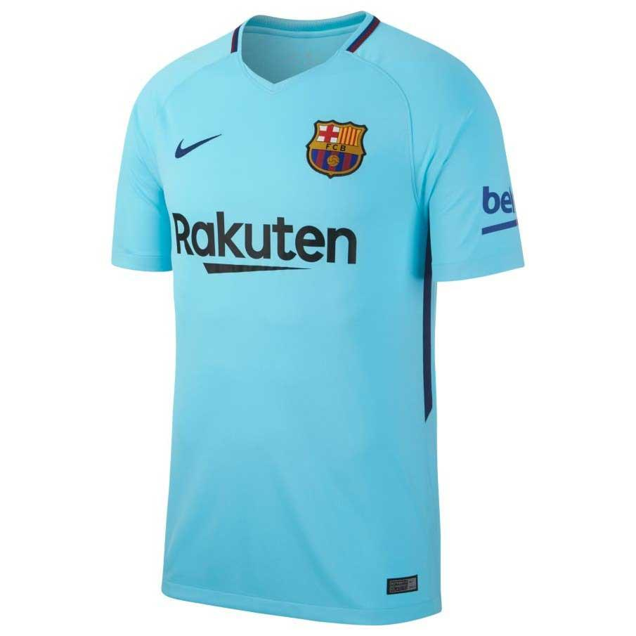 6e41ecf1d Nike FC Barcelona Away Stadium 17 18 Blue