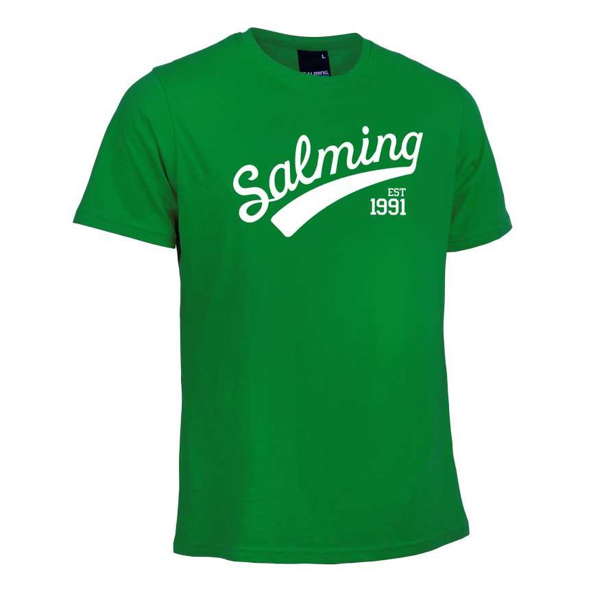 T-shirts Salming Logo 128 cm Green