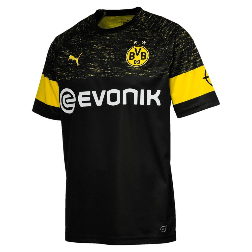 Puma Maglietta Borussia Dortmund Seconda 18/19 Nero, Goalinn