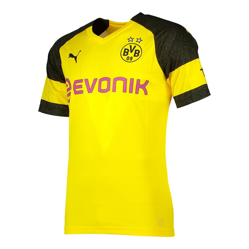 8799218892d Puma Borussia Dortmund Home Replica 18 19 Yellow