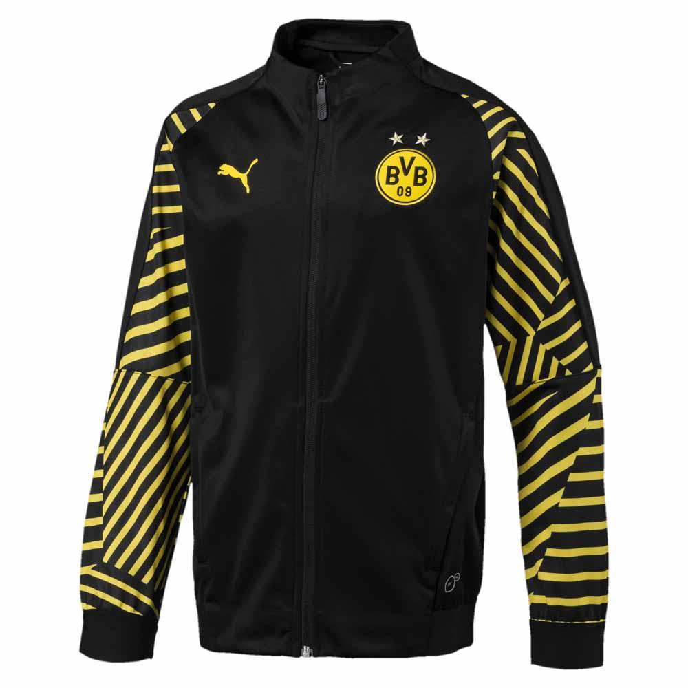 Football Puma Borussia Dortmund Stadium Jacket Junior