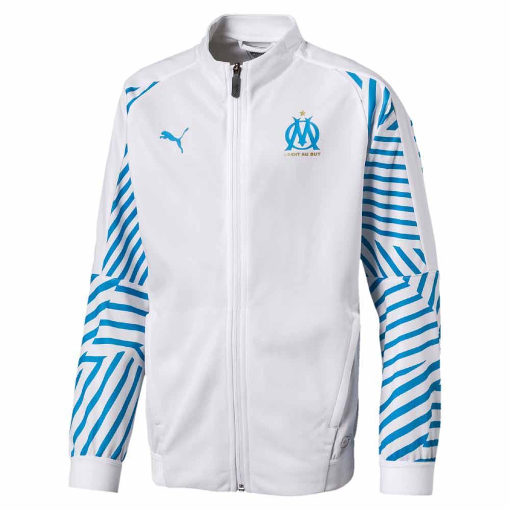 Puma Olympique Marseille Stadium 18/19 Junior Jacket