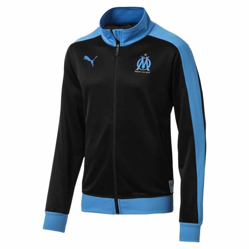 Olympique Marseille Presentation Herren Jacke