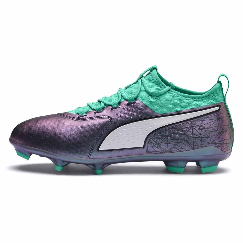 2a04660a1 Puma One 2 IL Leather FG Verde comprar y ofertas en Goalinn