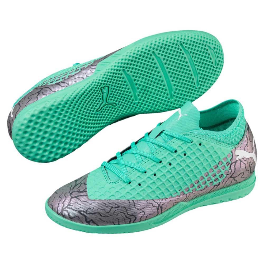Chuteira Puma Future 2.4 IT Futsal Verde