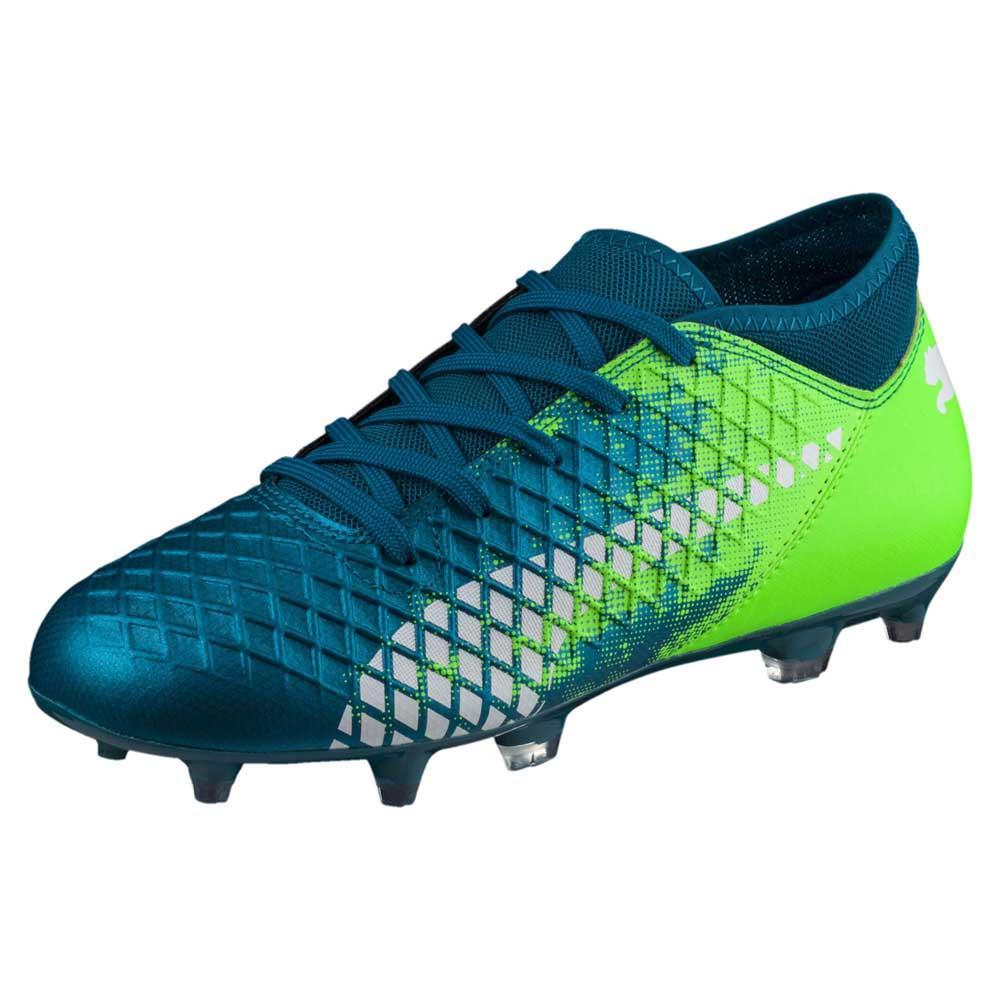 54bc04d479686 Puma Future 18.4 FG AG Green buy and offers on Goalinn