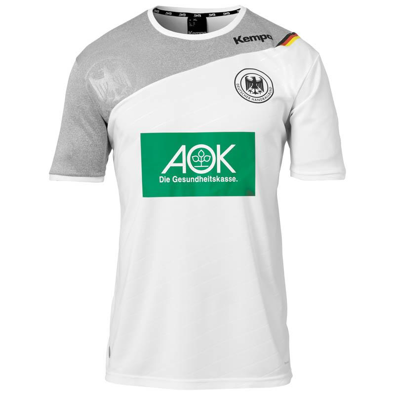 59b1d42a8 Kempa Germany Home 17 18 White buy and offers on Goalinn