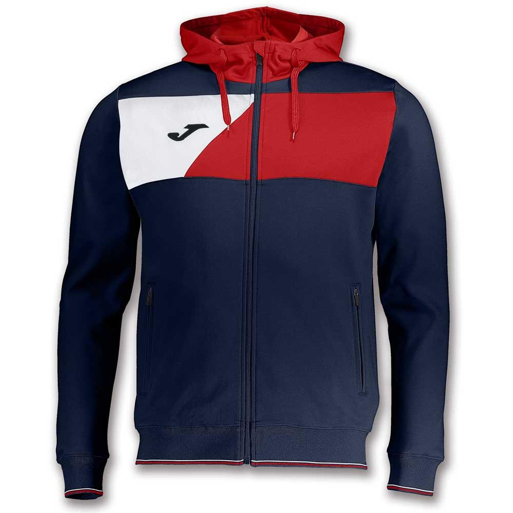 251018ee29 Joma Crew II Hooded Red buy and offers on Goalinn