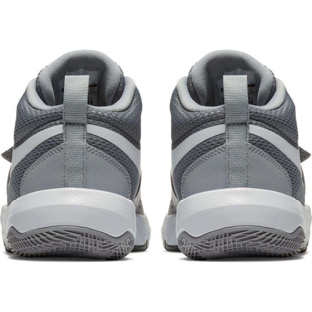 bedfb79c0b5b Nike Team Hustle D 8 GS Grey buy and offers on Goalinn