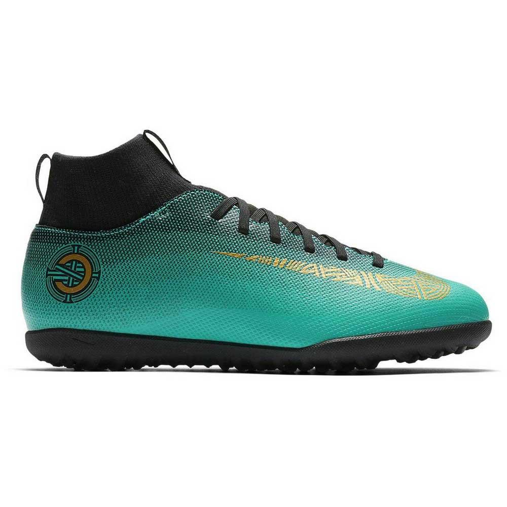 newest 0bf23 44b97 Nike Mercurialx Superfly VI Club CR7 TF Groen, Goalinn Zaalvoetbal