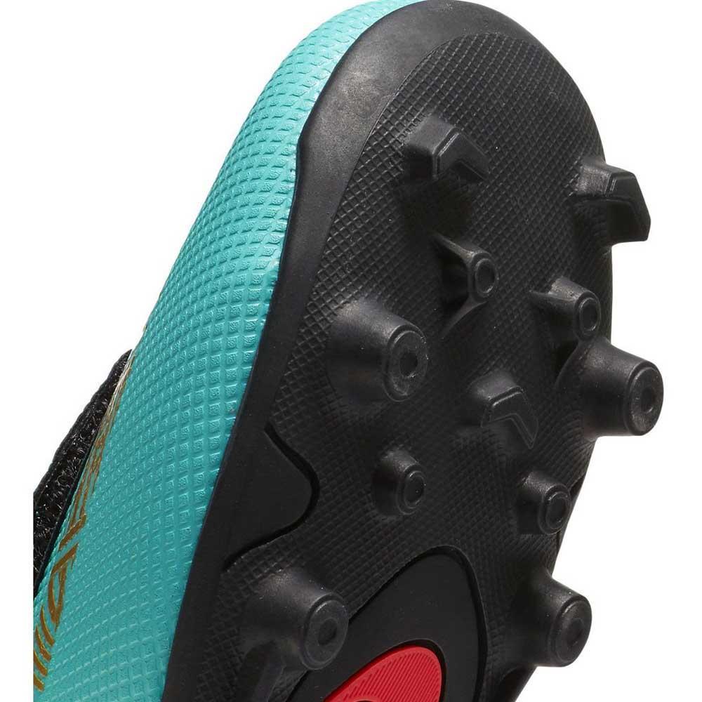 Araña de tela en embudo cazar Fundación  Nike Mercurial Vapor XII Club CR7 Velcro PS MG Blue, Goalinn