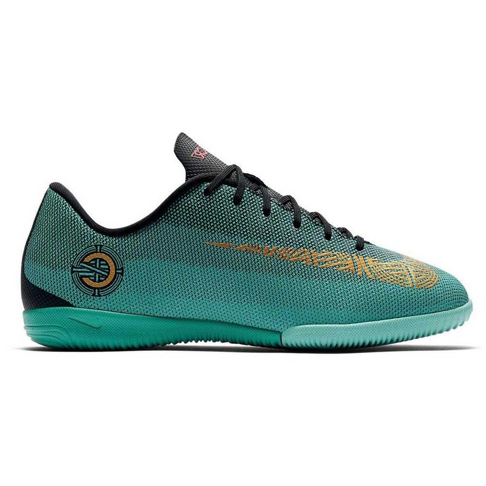 the latest b8438 896f8 Nike Mercurialx Vapor XII Academy CR7 GS IC Vert, Goalinn