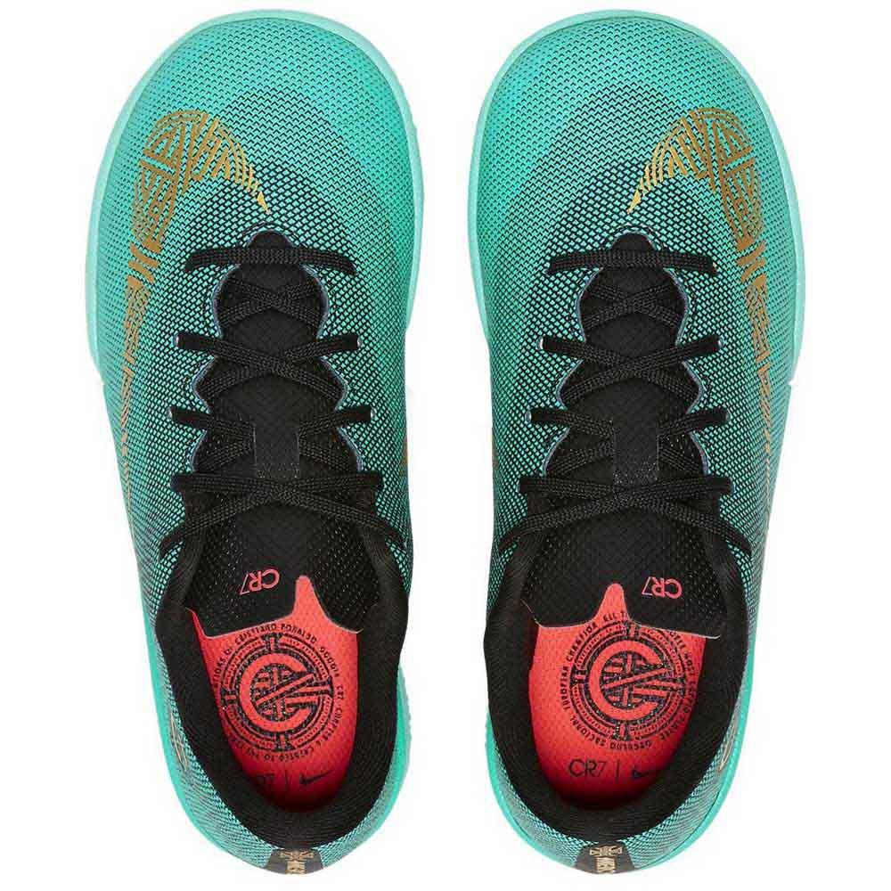 finest selection e04b8 700bc Nike Mercurialx Vapor XII Academy CR7 PS IC Green, Goalinn
