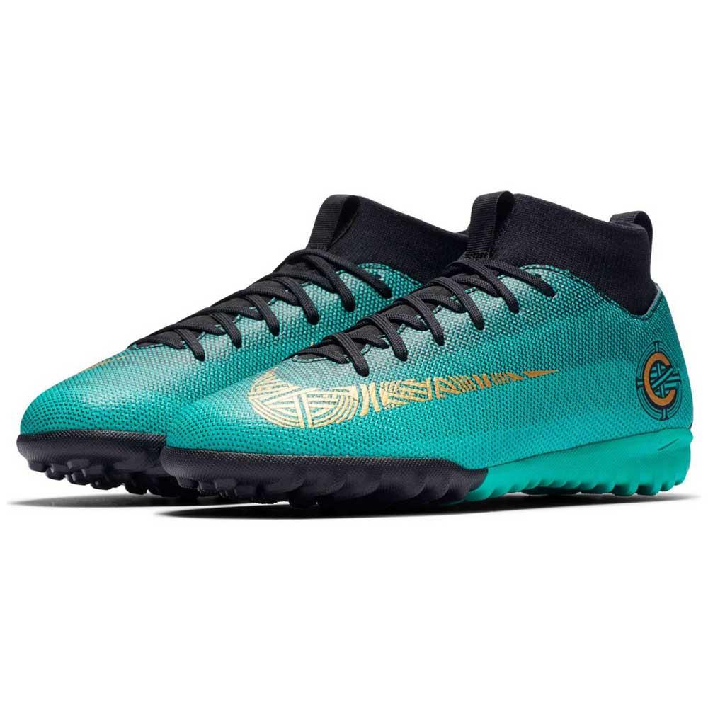 competitive price acce5 cfbae Nike Mercurial Superfly VI Academy CR7 GS TF Groen, Goalinn Voetbal ...