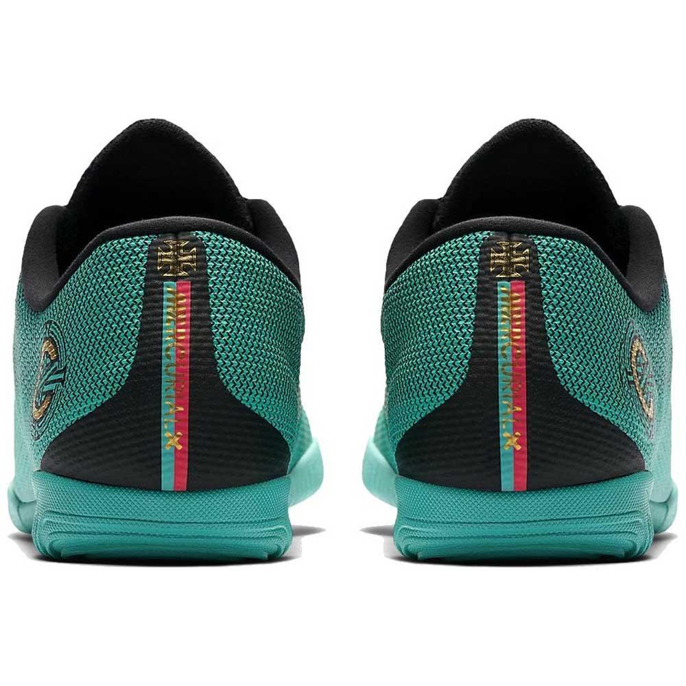 new styles 051b5 a679f Nike Mercurialx Vapor XII Academy CR7 IC Green, Goalinn